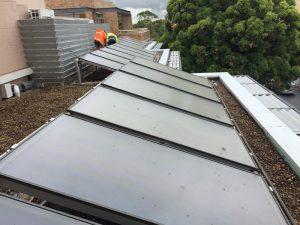 commercial solar hot water campbelltown
